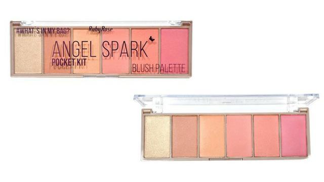 Paleta de Blush Angel Spark  Ruby Rose HB-6108