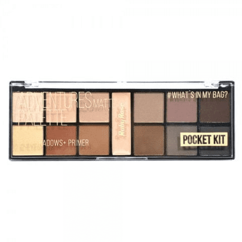 Paleta de Sombras + Primer Pocket Adventures Ruby Rose HB-9949