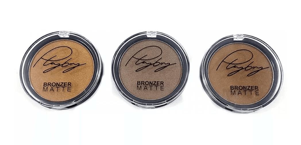 Pó Bronzer Facial Matte - Playboy - Hb92939