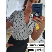 Blusa Barbara em Viscolycra Poá