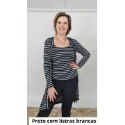Conjunto Silvana Viscolycra Listras