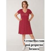 Vestido Sara M.C Viscolycra Poá