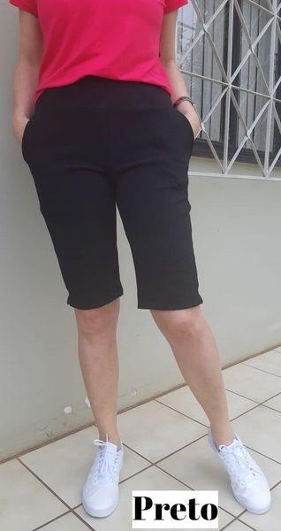 Bermuda Ciclista Crepe
