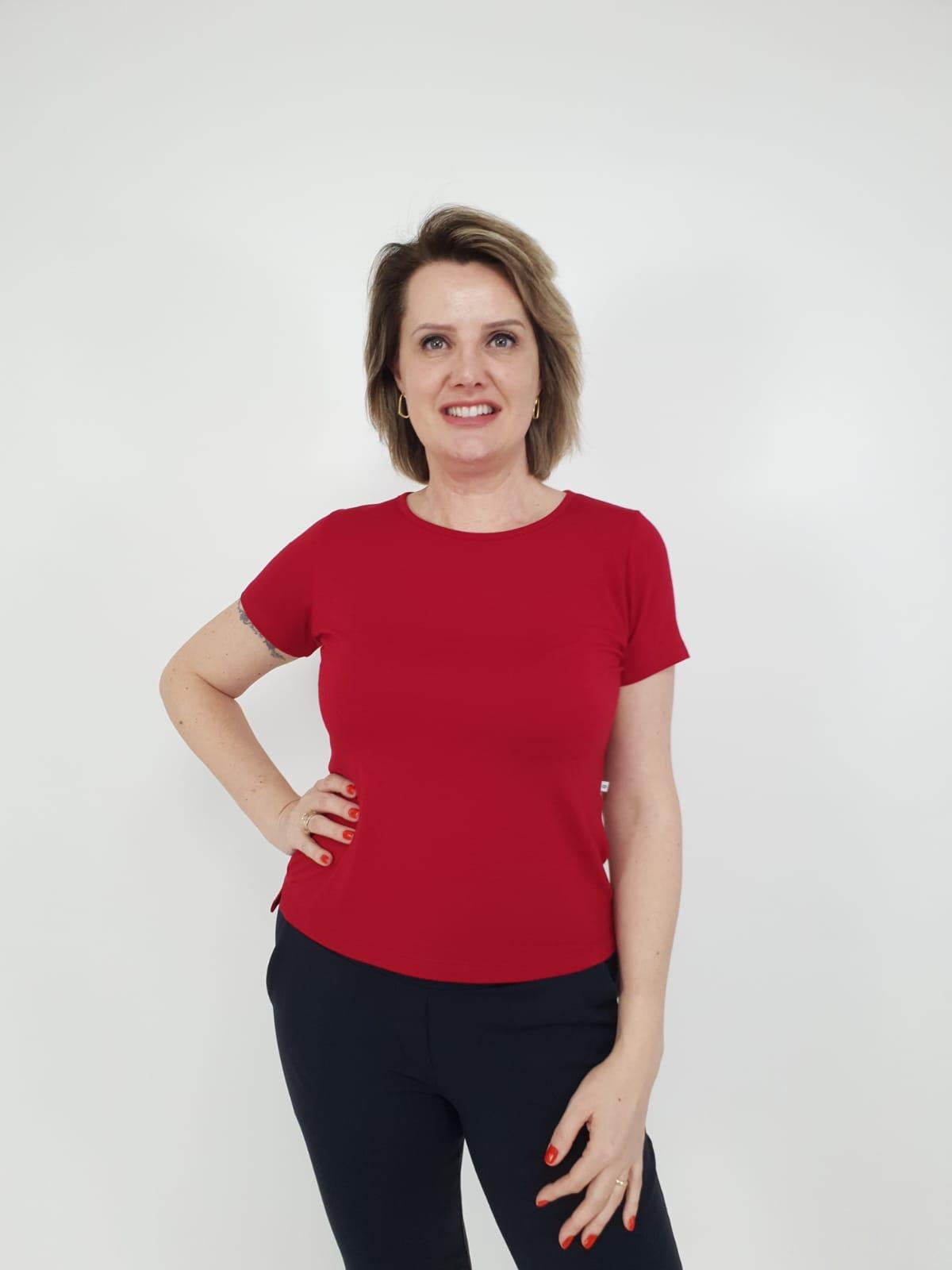 Blusa Fernanda Viscolycra
