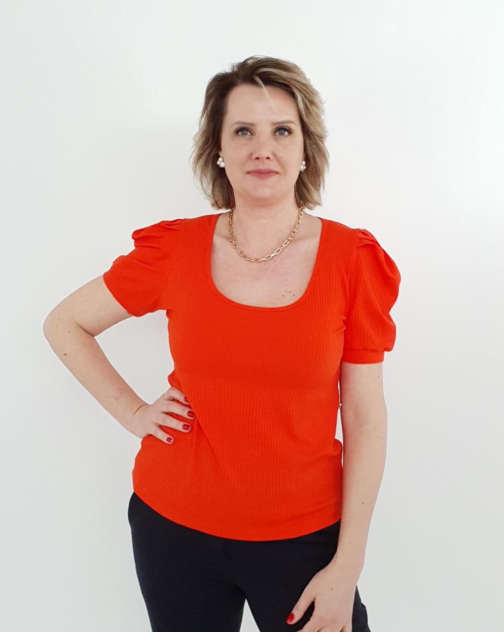 Blusa Luana Canelado
