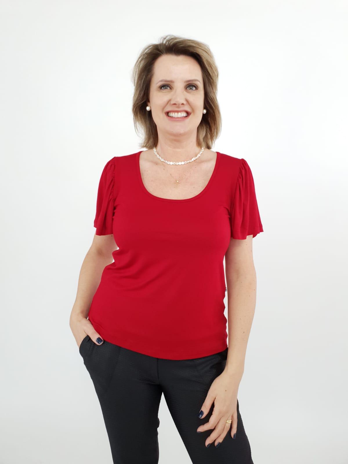Blusa Michele Viscolycra