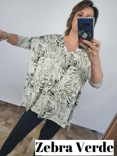 Blusa Nadja estampada