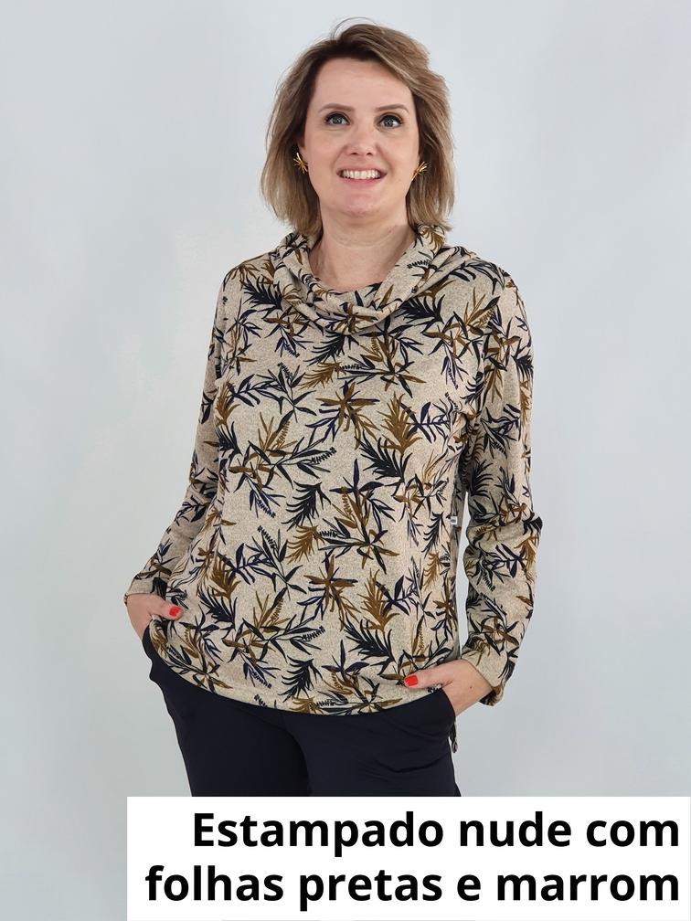 Blusa Priscila Cashmere Estampado