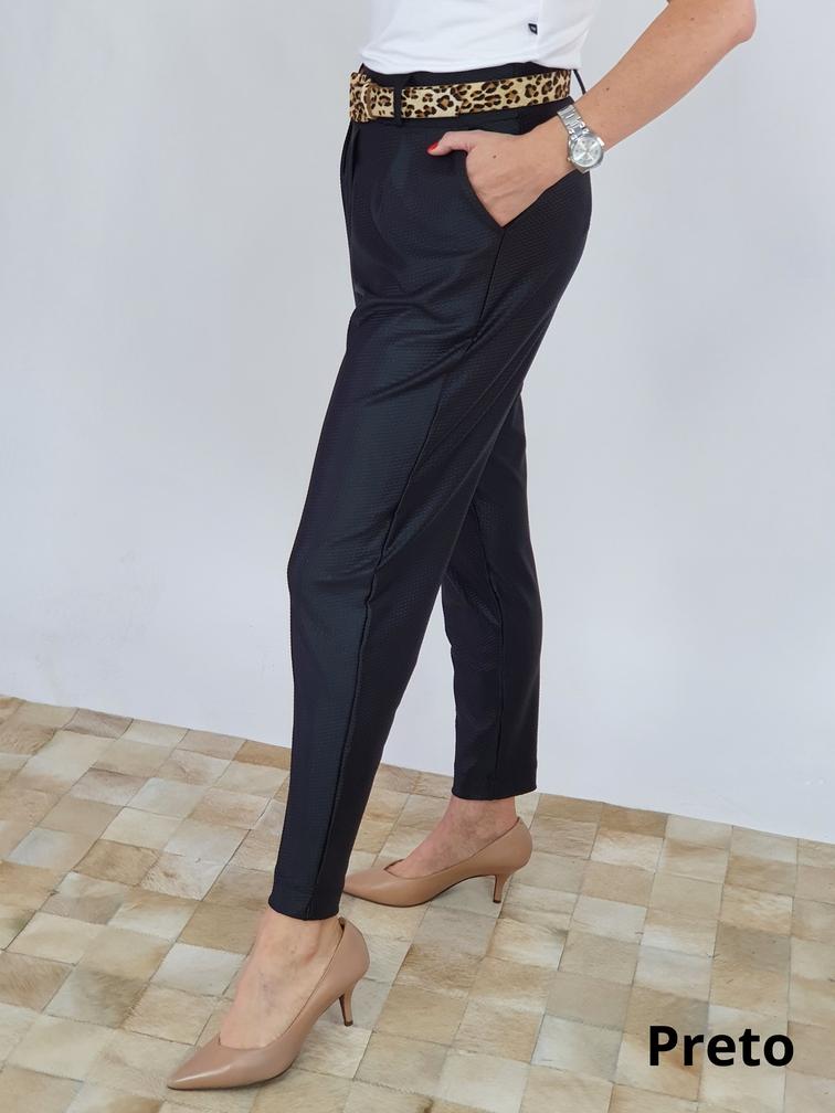 Calça Adriana Lycra Couro