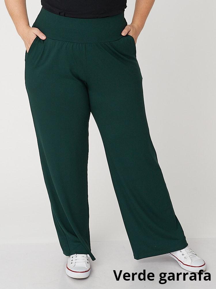 Calça Pantalona Viscolycra