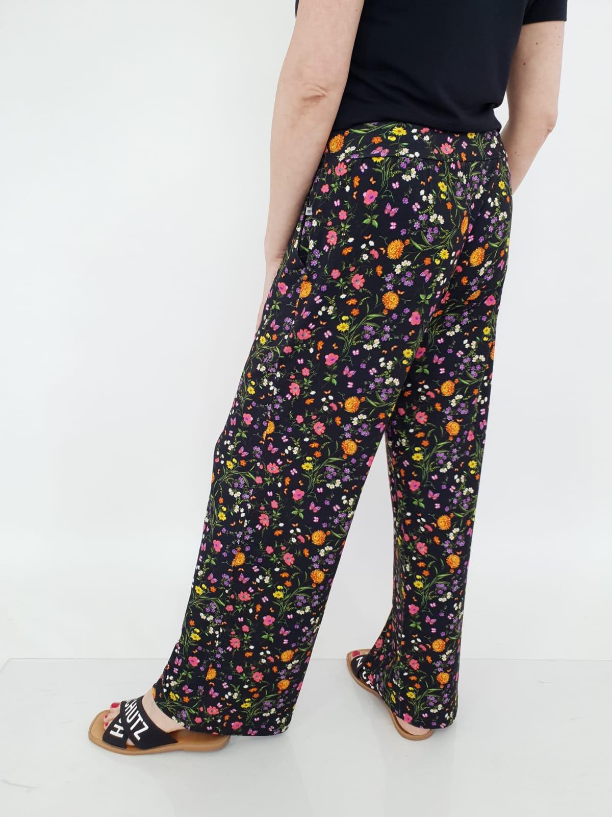 Calça Pantalona Viscolycra Estampado