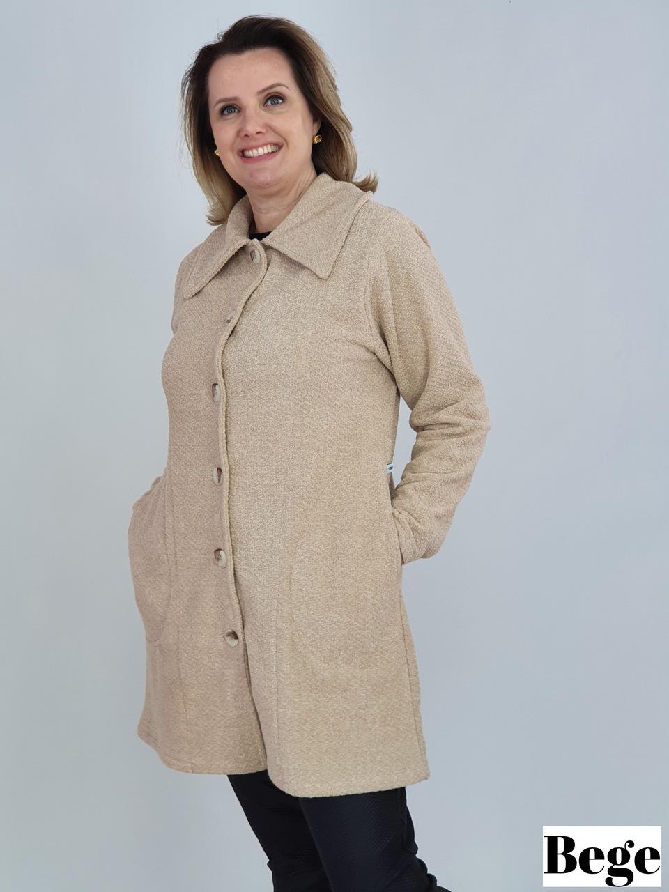 Casaco Glaucia Soft Tweed