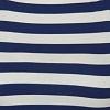 Azul com listra Off White - Viscolycra