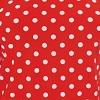 Vermelho com poá branco - Liganete