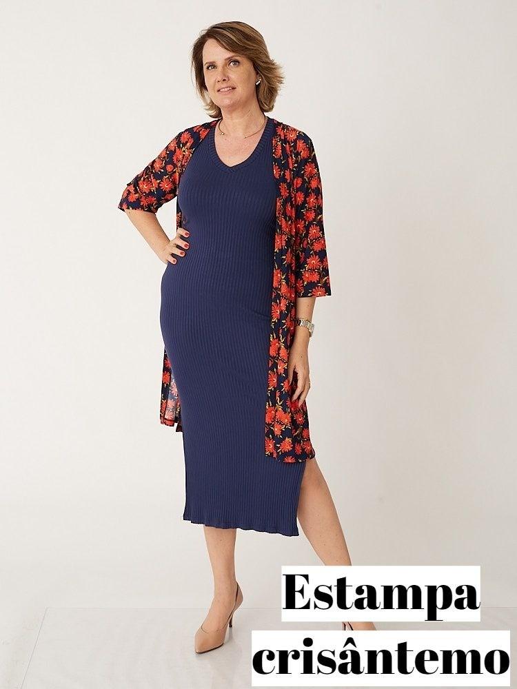 Kimono Ester em Liganete