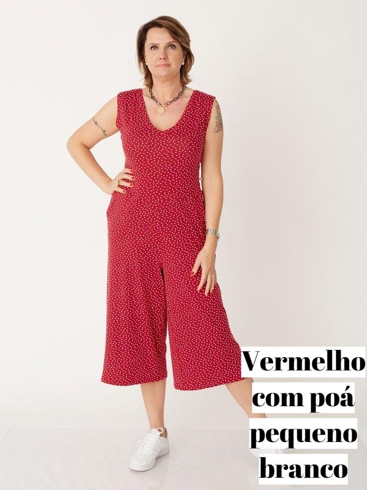 Macacão Pantacourt Poá