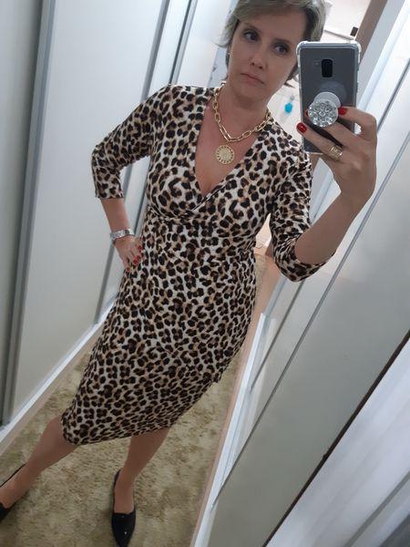 Vestido Cachecare Lilian em Viscolycra