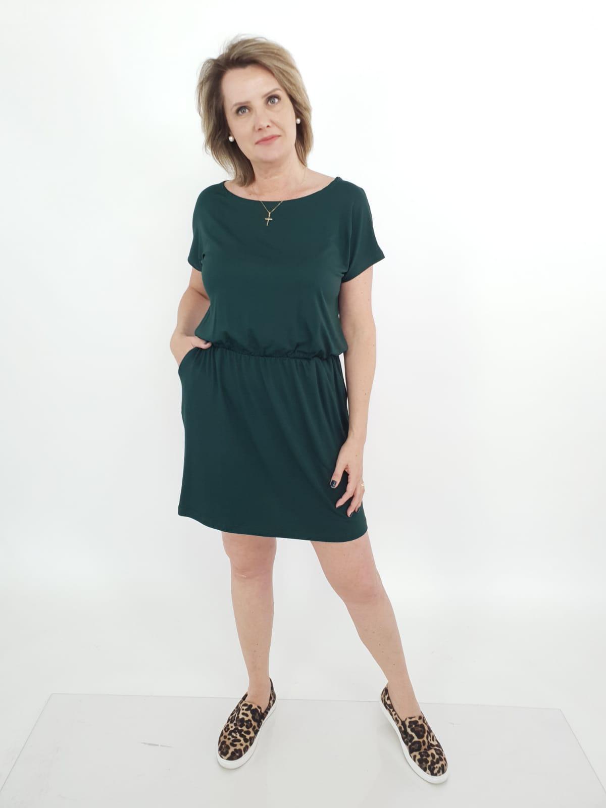 Vestido Dani Curto Viscolycra