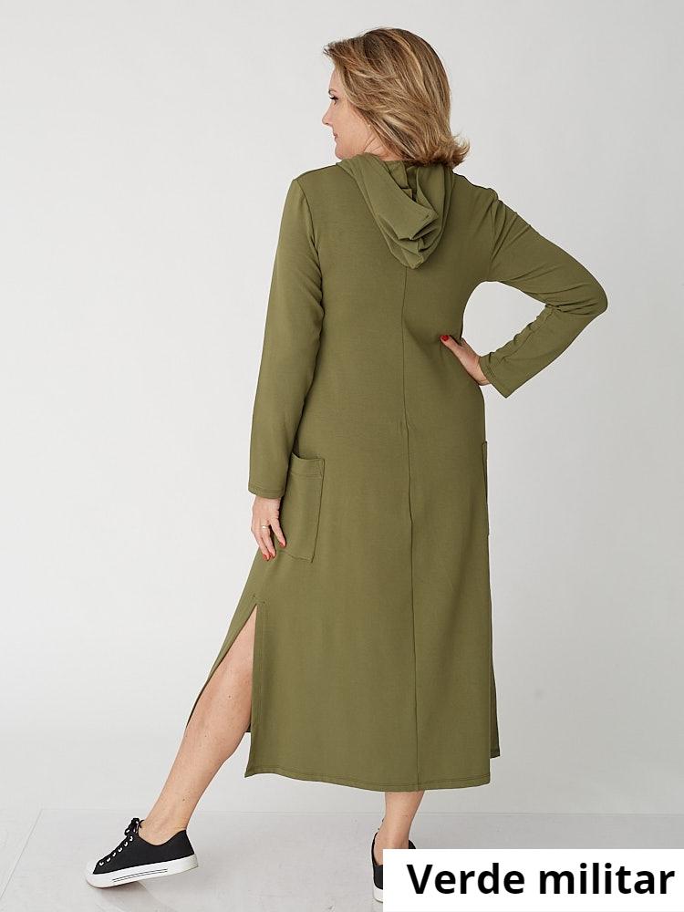 Vestido Isabel Viscomoletinho