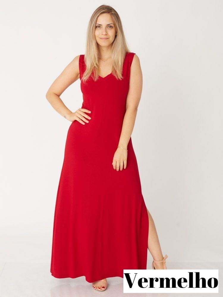 Vestido Lilian Regata Viscolycra