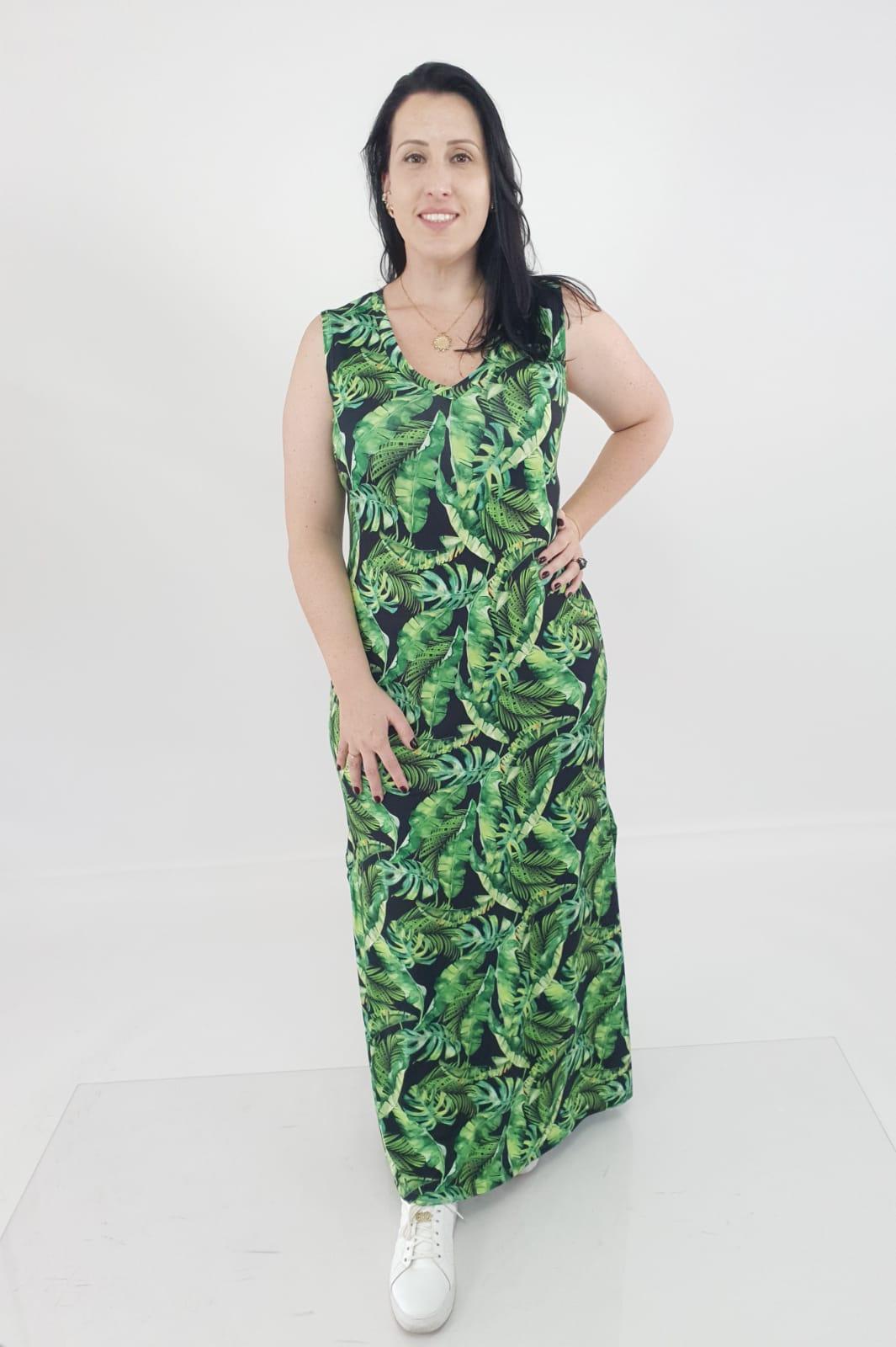 Vestido Lilian Regata Viscolycra Estampado