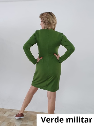 Vestido Marcia M.L Viscomoletinho