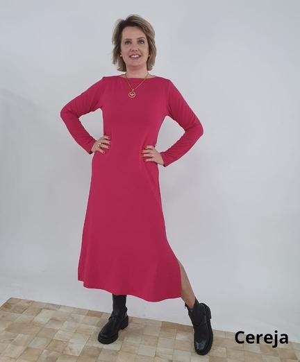 Vestido Midi Márcia M.L Viscomoletinho
