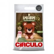 Kit Amigurumi - Urso - Coleção Safári Baby