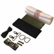 Kit Necessaire com Material - camuflado + Video Aula