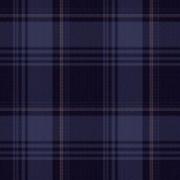 Tecido Flanela Algodão - 0,50 cm x 1,50 cm -  Xadrez Azul Marinho