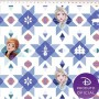 Tecido Tricoline Estampa Frozen - Disney  - Fundo Branco - 50 cm x 1,50 cm