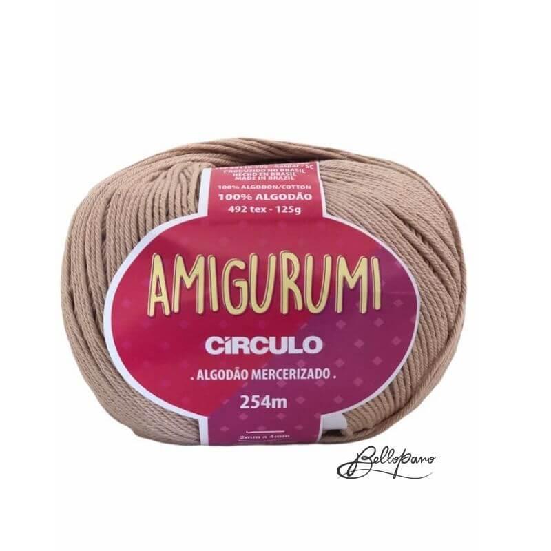Fio Amigurumi - Cor Amendoa 7650