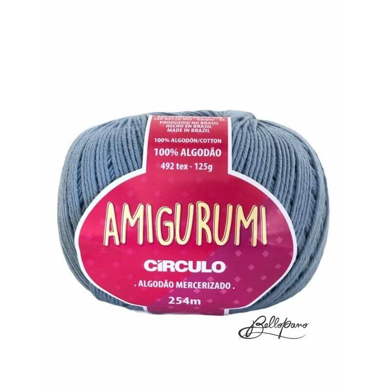 Fio Amigurumi - Cor Aquario 2927