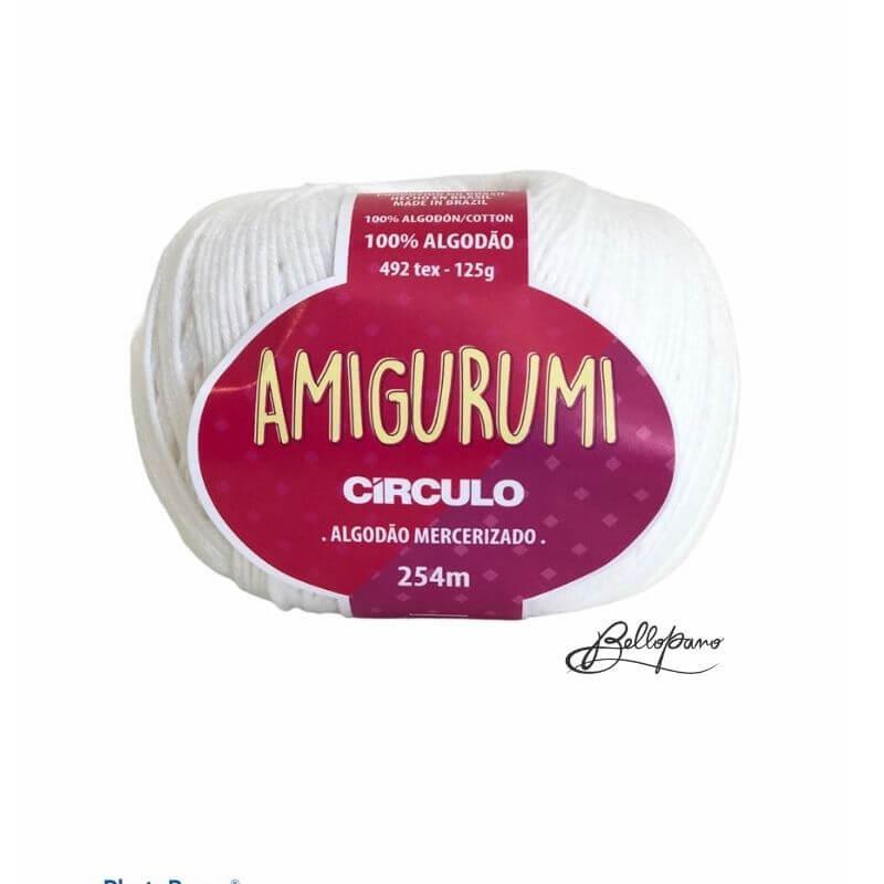 Fio Amigurumi - Cor Branco 8001