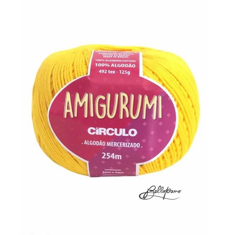 Fio Amigurumi - Cor Canario 1289