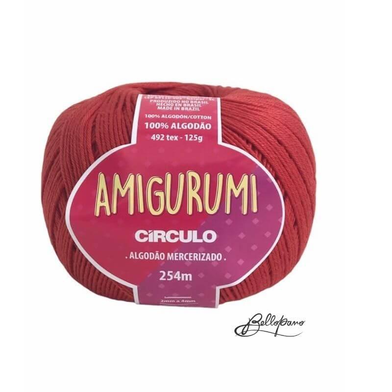 Fio Amigurumi - Cor Cereja 3583