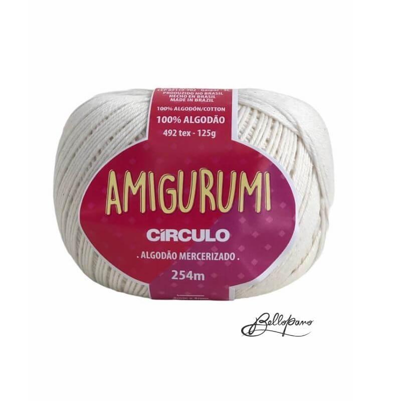 Fio Amigurumi - Cor Off White 8176