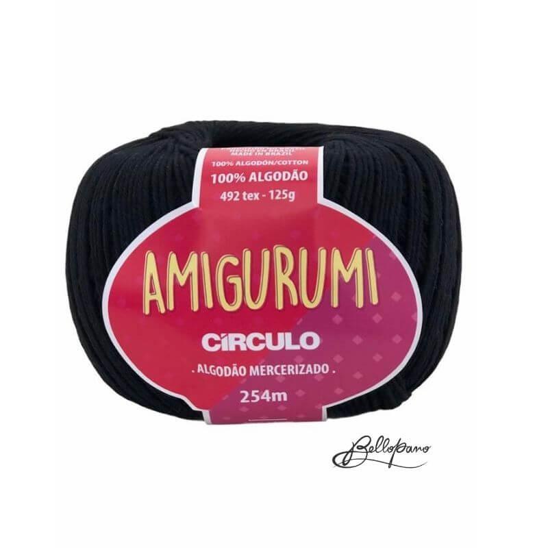 Fio Amigurumi - Cor Preto 8990
