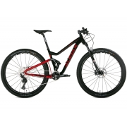 BICICLETA 29 AUDAX FULL FS400 DEORE 1X12 VEL PTO/VERM (2021)