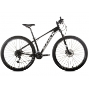 BICICLETA 29 AUDAX HAVOK NX 2X9 VEL. PRETO (2021)