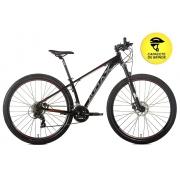 BICICLETA 29 AUDAX HAVOK SX SHIMANO 3X7 VEL. PRETO (2021)