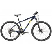 BICICLETA 29 CALOI EXPLORER EXPERT DEORE 2X10 V. AZUL ESCURO (2021)