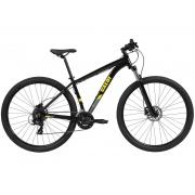 BICICLETA 29 CALOI EXPLORER SPORT 24 VEL PRETO (2021)
