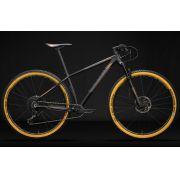 BICICLETA 29 SENSE IMPACT RACE XC SRAM GX EAGLE 1X12 VEL PTO\DOURADO