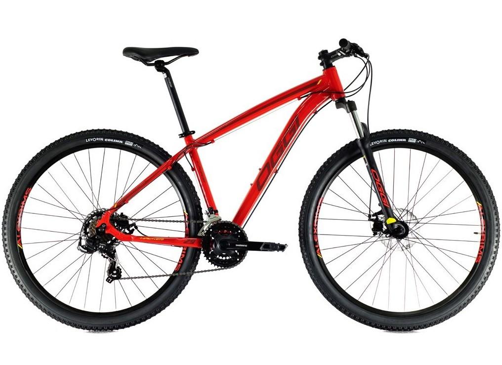 BICICLETA 29 OGGI HACKER SPORT 21 VEL. VM/VINHO (2021)