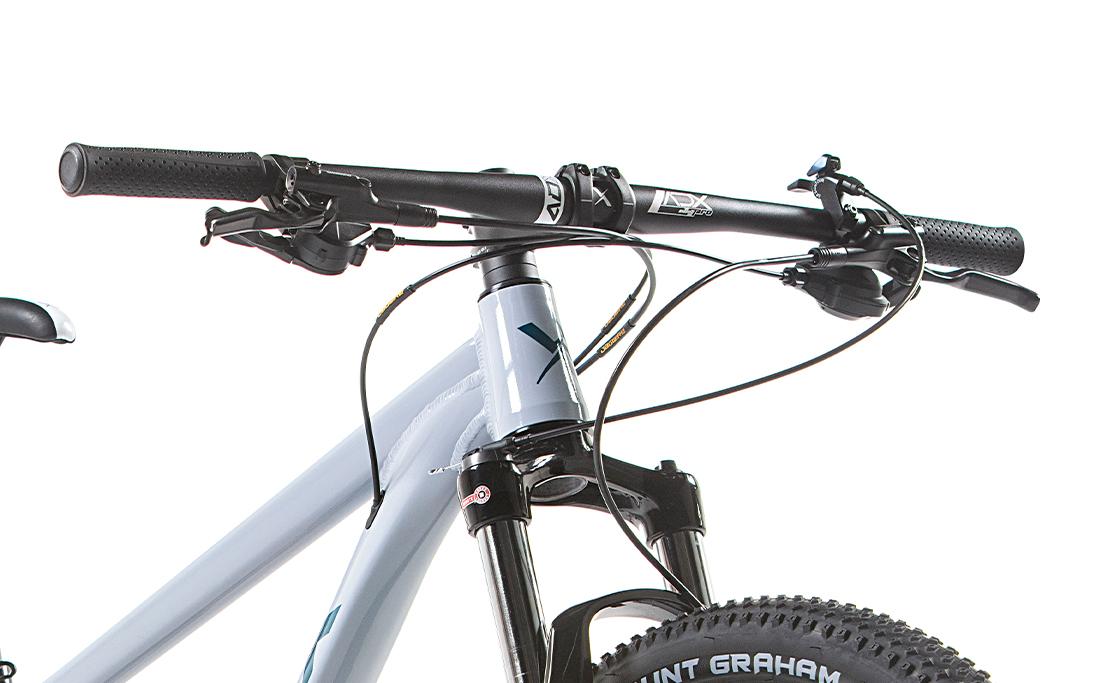 BICICLETA 29 AUDAX ADX 100 BOOST ALIVIO 2X9 VEL. CINZA (2021)
