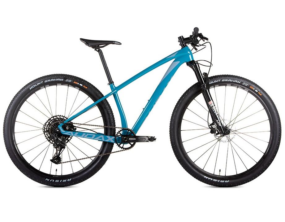 BICICLETA 29 AUDAX CARBON AUGE 555 SRAM SX 1X12 VEL AZUL (2021)