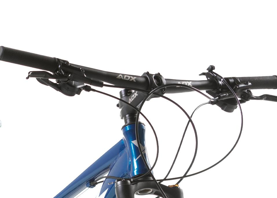 BICICLETA 29 AUDAX HAVOK NX 2X9 VEL AZUL METAL (2021)