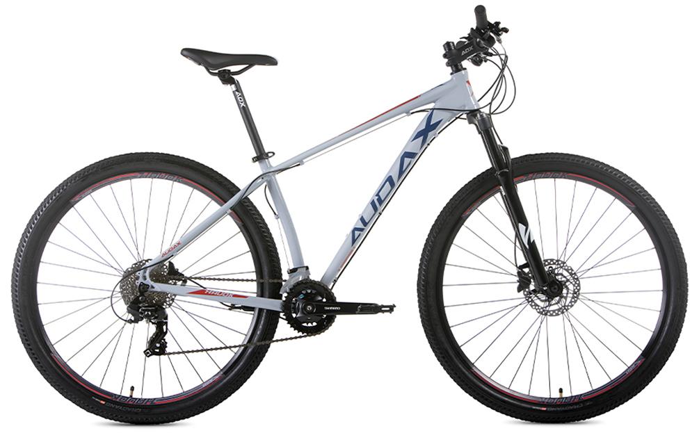 BICICLETA 29 AUDAX HAVOK TX TOURNEY 3X8 VEL CINZA (2021)