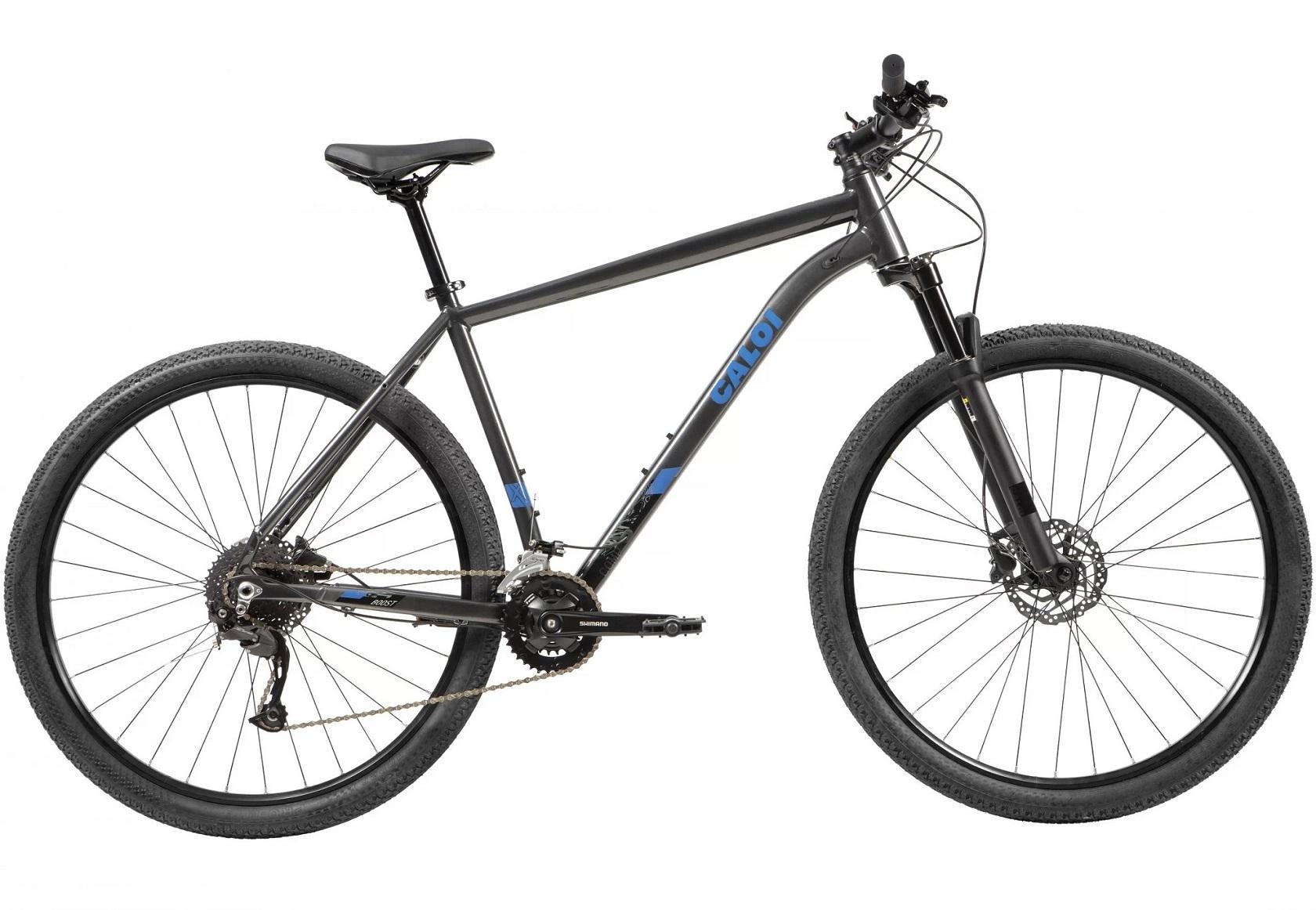 BICICLETA 29 CALOI EXPLORER COMP ALIVIO 2X9 CINZA (2021)